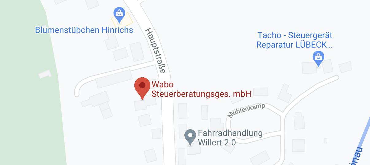 Weiterleitung zu Google Maps